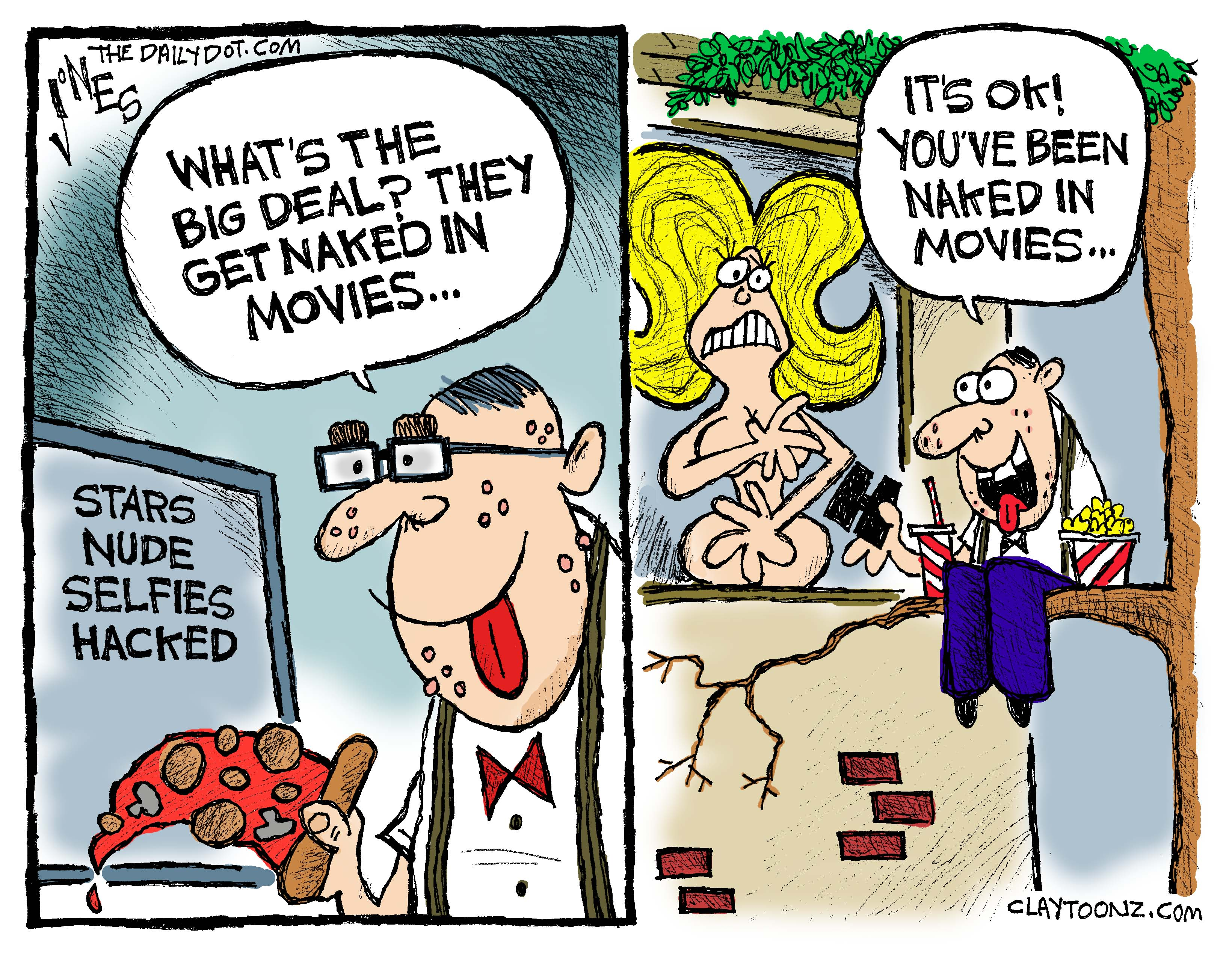my debut cartoon for the daily dot claytoonz