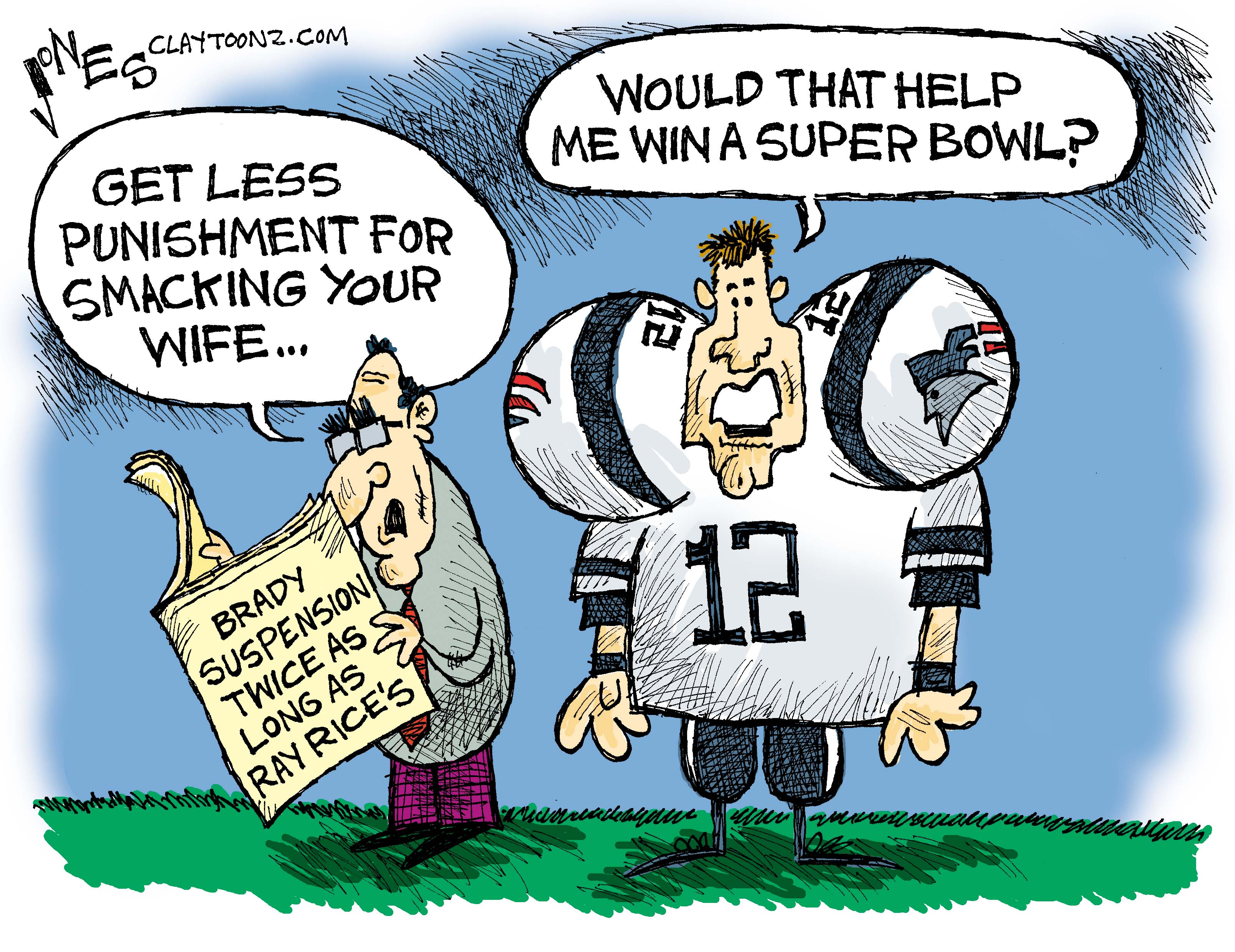 National Football League Claytoonz