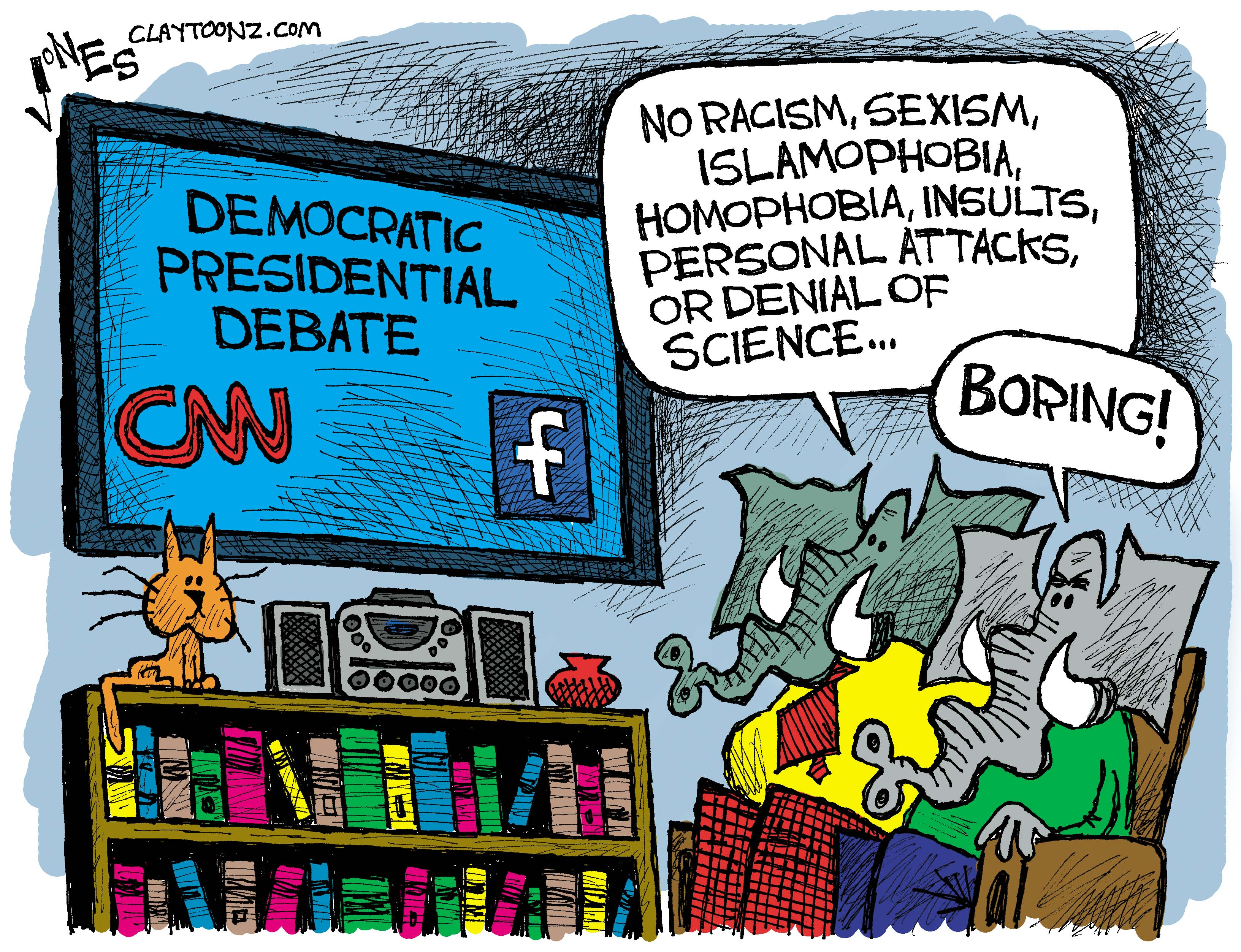 Image result for cartoons between republicans and democrats