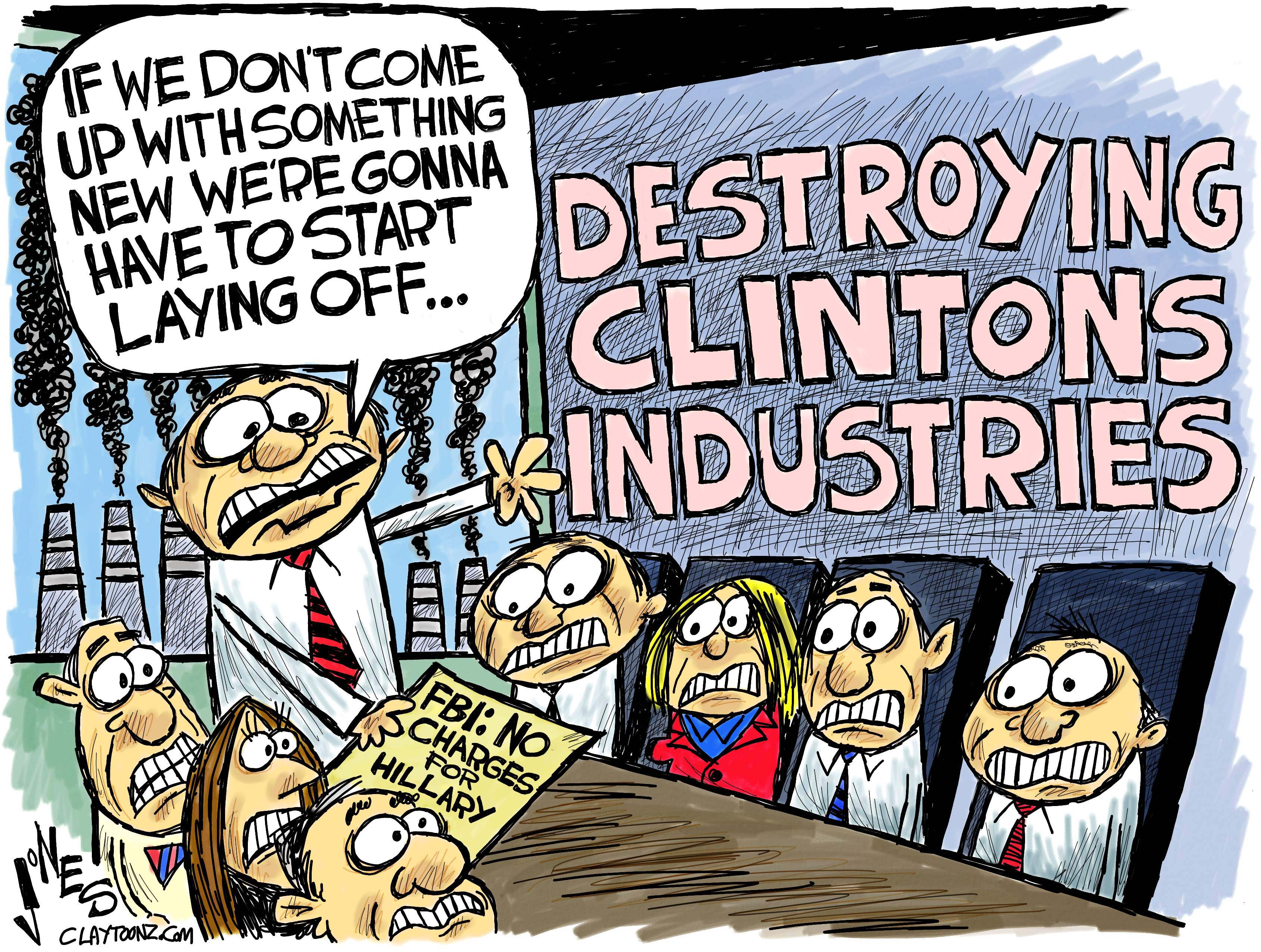 Image result for cartoons clinton email handling comey