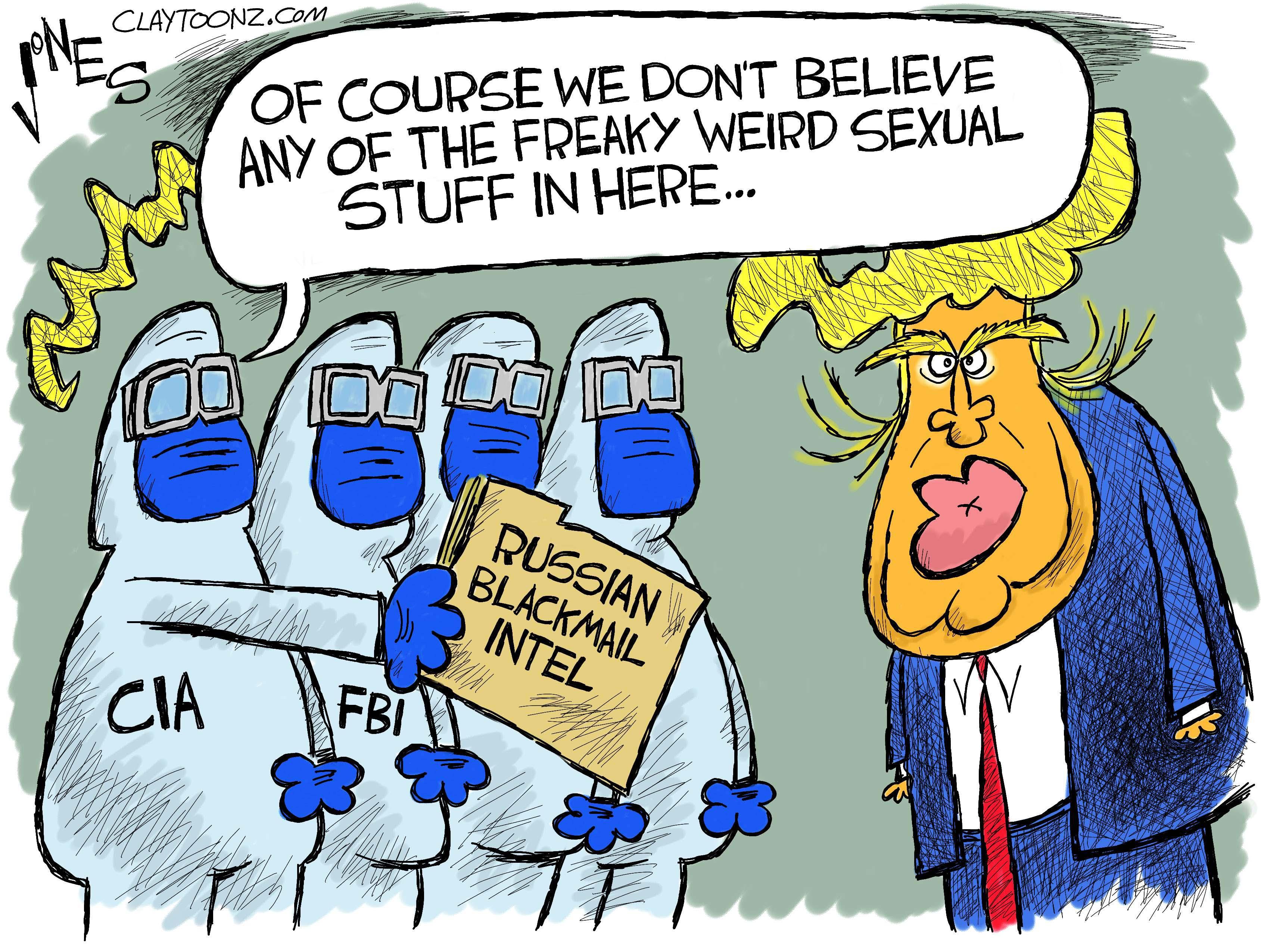 Cartoon golden showers