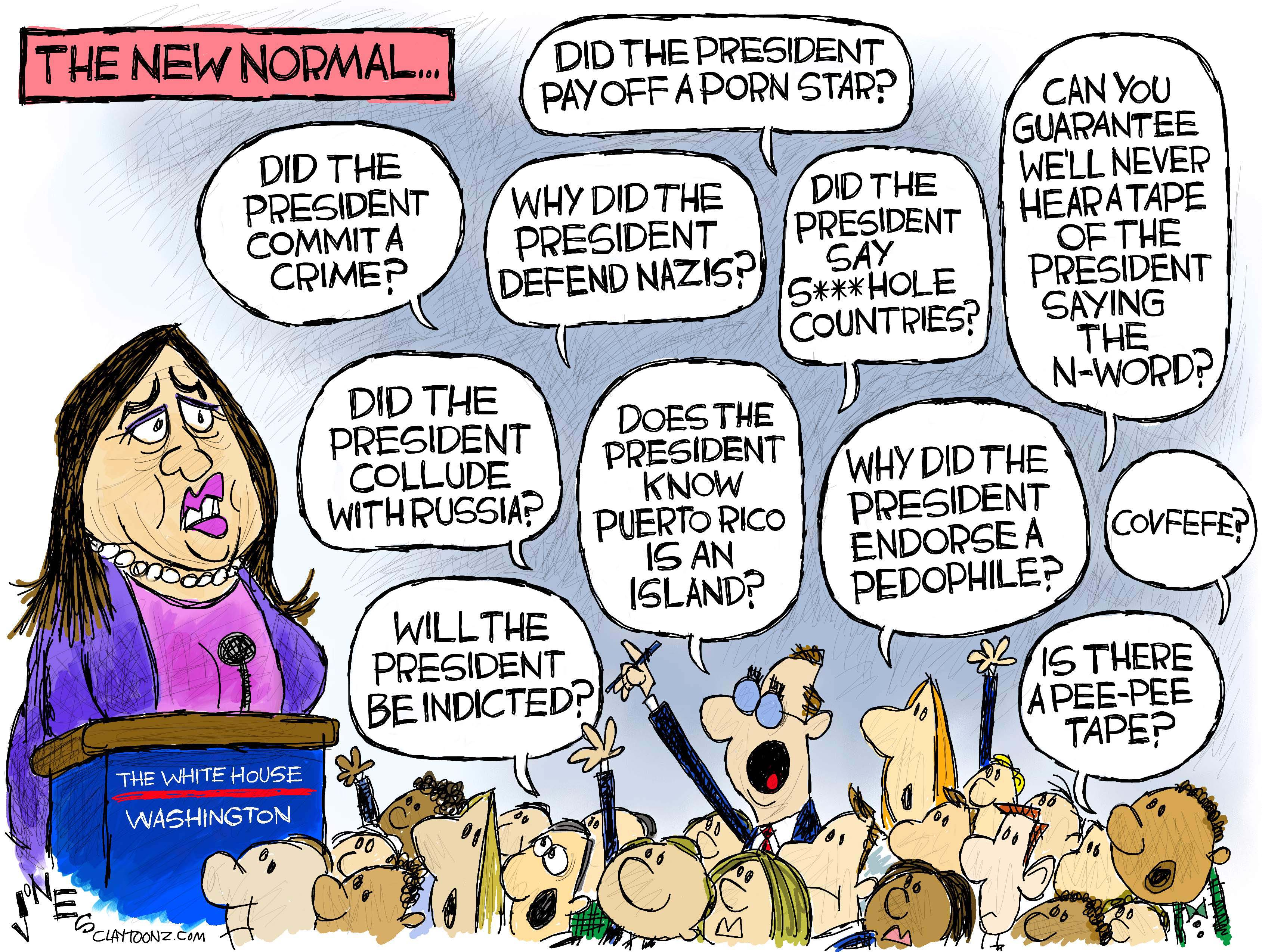 The New Normal Claytoonz
