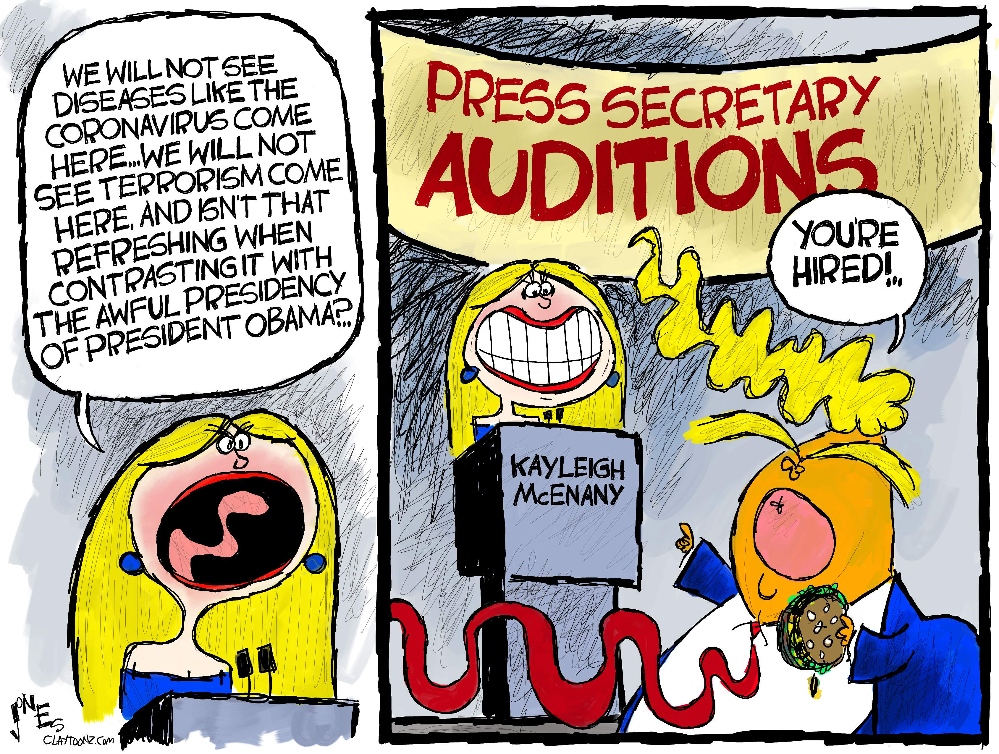 The New And Improved Trump Goon Claytoonz