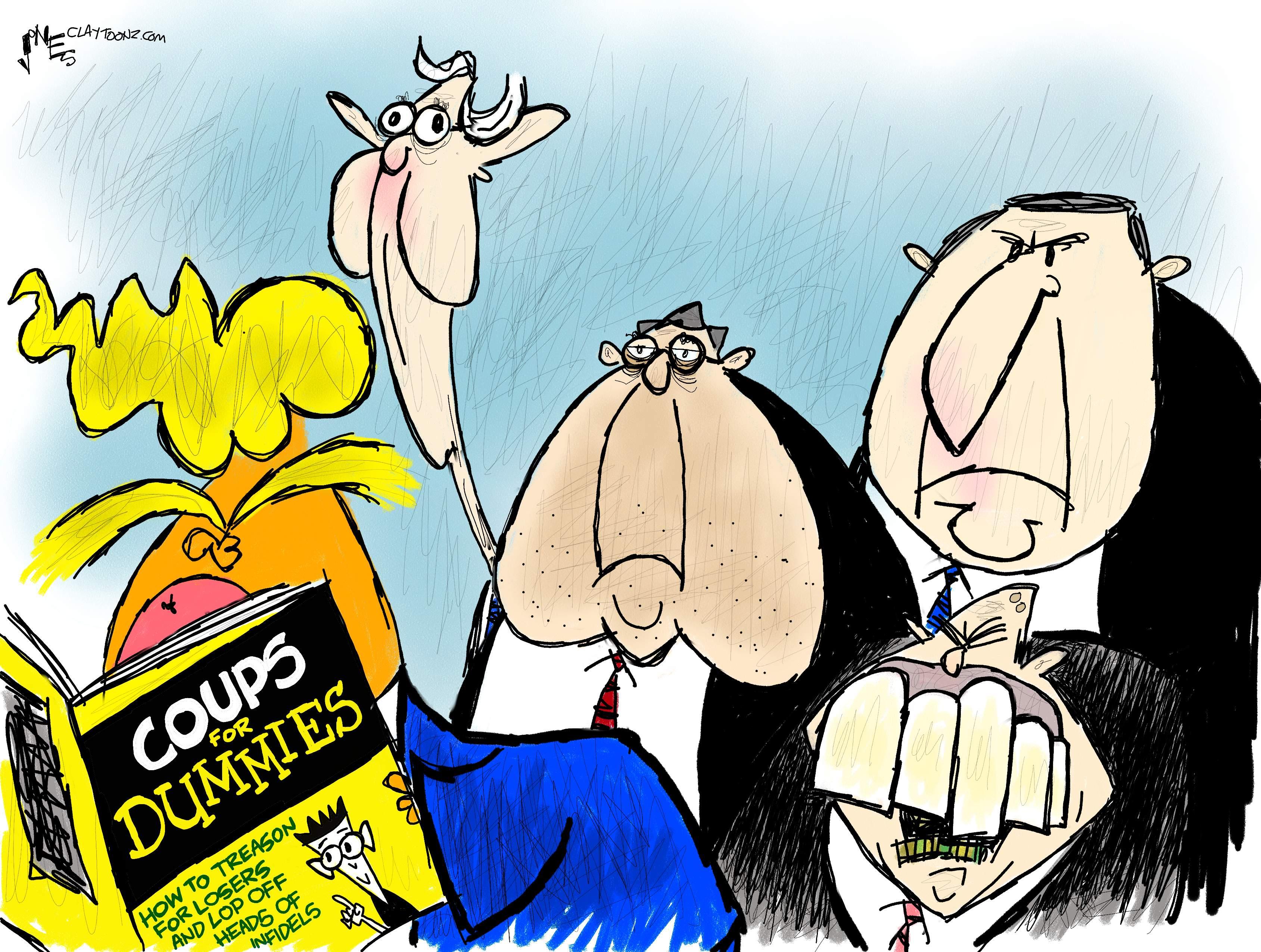 claytoonz | Nationally Syndicated Editorial Cartoonist